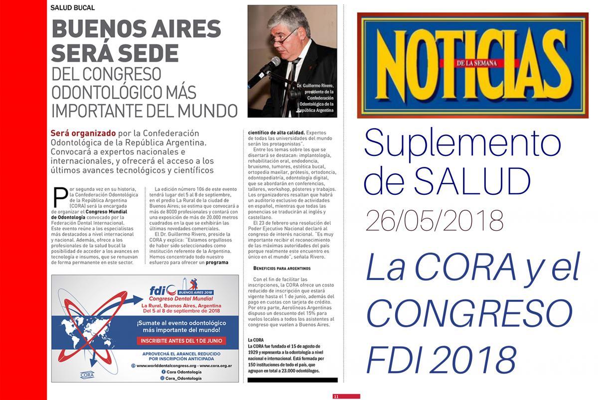 CORA - Noticias | La CORA en la Revista Noticias